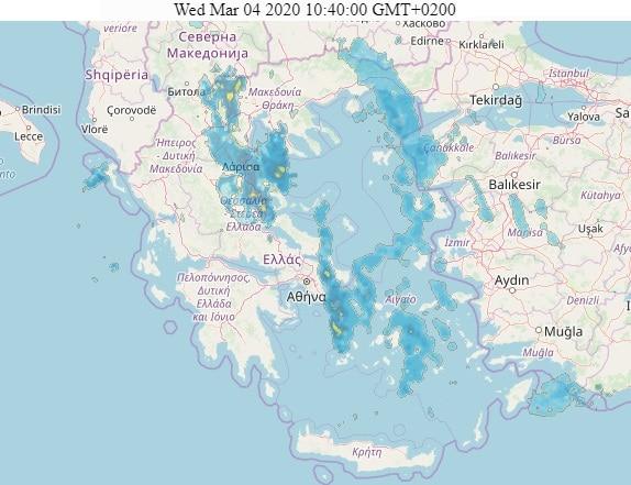 Εικόνα Radar Καιρού